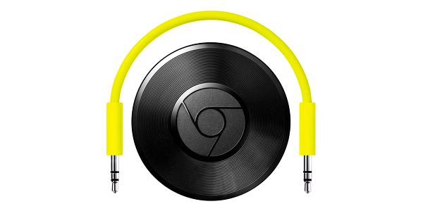Multimediální centrum Google Chromecast Audio černý/zelený