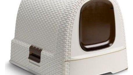 CURVER RATTAN 32451 Toaleta pro kočky - Vintage