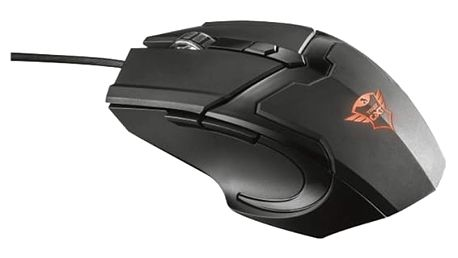 Myš Trust GXT 101 Gaming černá (/ optická / 6 tlačítek / 4800dpi) (21044)