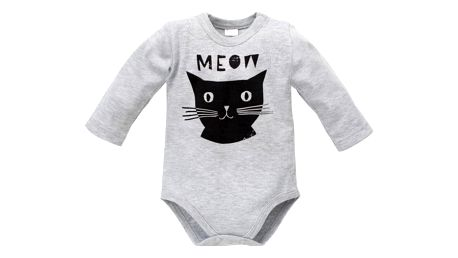 PINOKIO Body dlouhý rukáv Happy Day vel. 62 – kočka