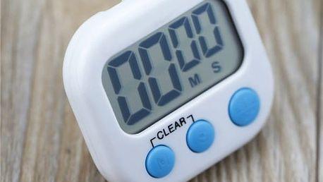 Magnetická LCD minutka do kuchyně