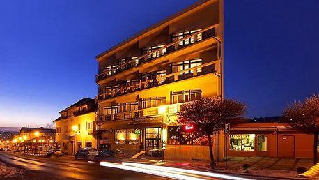 3 až 5denní wellness pobyt pro 2 se snídaněmi v hotelu Krystal*** v Luhačovicích