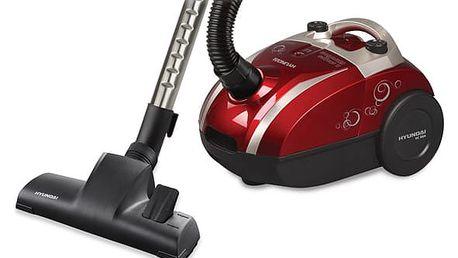 Vysavač podlahový Hyundai VC 004 R červený