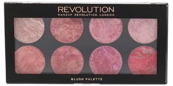 Makeup Revolution London Blush Palette 13 g tvářenka pro ženy Blush Queen