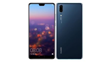 Mobilní telefon Huawei P20 Dual SIM (SP-P20DSLOM) modrý