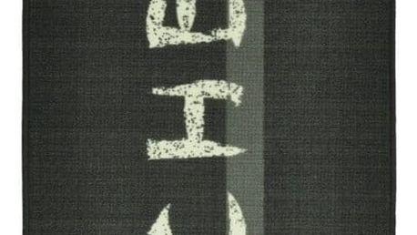 ŠedýHnědý kuchyňský běhoun Zala Living Kitchen, 67x180cm