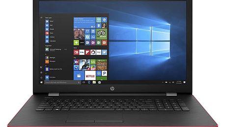 Notebook HP 17-ak040nc (2CP54EA#BCM) červený Software F-Secure SAFE, 3 zařízení / 6 měsíců + Monitorovací software Pinya Guard - licence na 6 měsíců v hodnotě 979 Kč + DOPRAVA ZDARMA