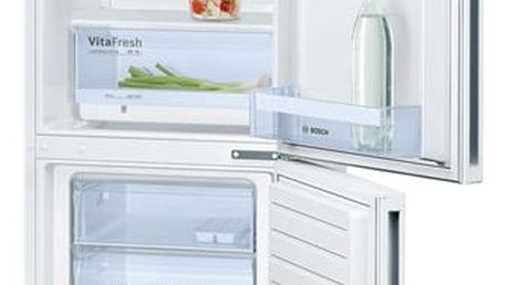 Chladnička s mrazničkou Bosch KGV33VW31S bílá + DOPRAVA ZDARMA