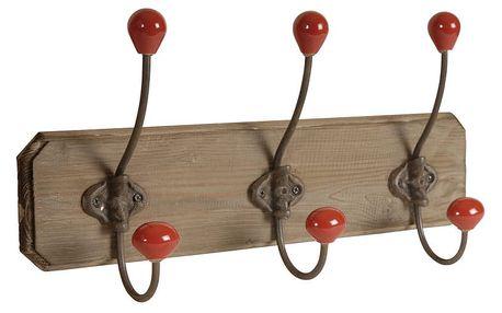 Dřevěný věšák Antic Line Wooden