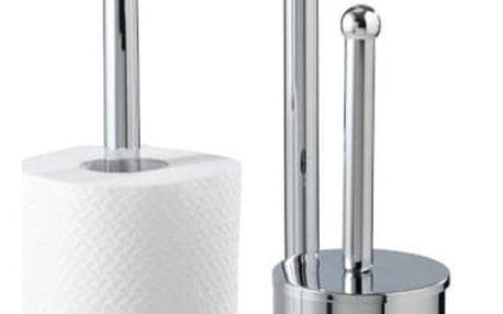 Stojan na toaletní papír a WC štětku - 3 v 1, WENKO
