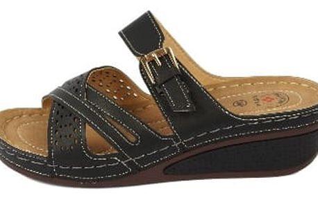Dámské zdravotní pantofle KOKA 11 černé