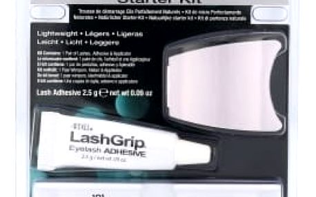 Ardell Natural dárková kazeta pro ženy umělé řasy Demi Wispies 101 1 pár + lepidlo na řasy 2,5 g + aplikátor