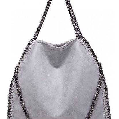 Dámská šedá kabelka Kristen 1760