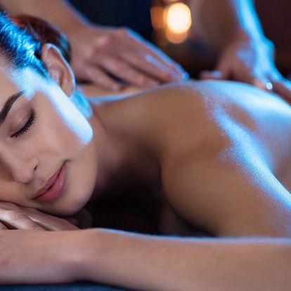 Jemná relaxační masáž pro ženy v délce 60 minut