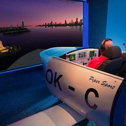 Vzhůru do oblak: Zážitek na leteckém simulátoru