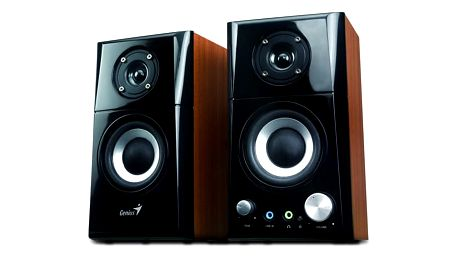 Reproduktory Genius SP-HF 500A 2.0 černá/imitace dřeva (31730905100)