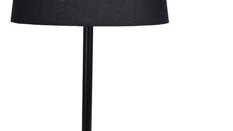Kovová lampička, stolní. 47 cm - černá Home Styling Collection