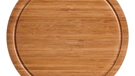 Bambusové, kulaté krájecí prkénko, ZELLER