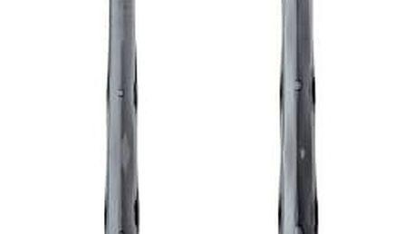 Lžíce na salát CRYSTAL - šedá barva, KOZIOL