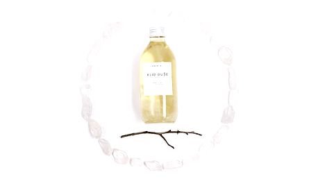 JAGAIA Vysokovibrační tělový olej - Klid duše 50 ml, čirá barva, sklo
