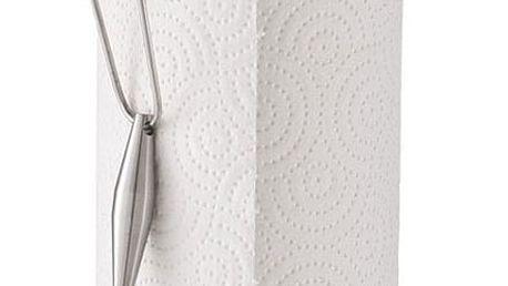 Stojanový věšák na papírové ručníky AELTRA - nerezová ocel, ZELLER