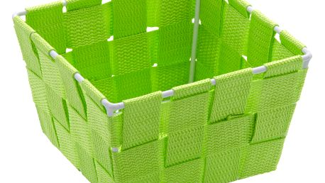 Dóza na drobné předměty ADRIA SQUARE GREEN, mini organizér, WENKO