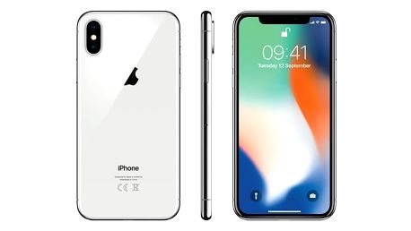 Mobilní telefon Apple iPhone X 256 GB - Silver (MQAG2CN/A) + DOPRAVA ZDARMA