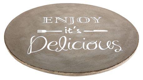 Prkénko pro servírování jídel, pizzy, sýrů, předkrmů XXL EH Excellent Houseware