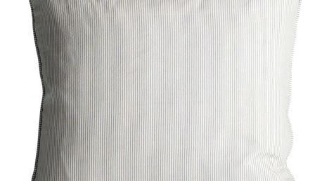 Tine K Home Povlak na polštář Azul Stripes 50x50, modrá barva, bílá barva, textil