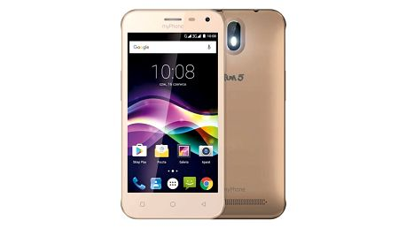 Mobilní telefon myPhone FUN 5 (TELMYAFUN5GO) zlatý Software F-Secure SAFE, 3 zařízení / 6 měsíců v hodnotě 979 Kč
