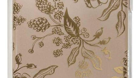 Rifle Paper Co. Kryt na iPhone 6/6s/7/8 Gold Floral Toile, zlatá barva, čirá barva, plast