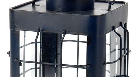 producent niezdefiniowany Kovová lucerna - modro-černá barva EMAKO