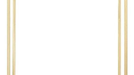 House Doctor Kovová stolní lampa Kubix Brass, zlatá barva, kov