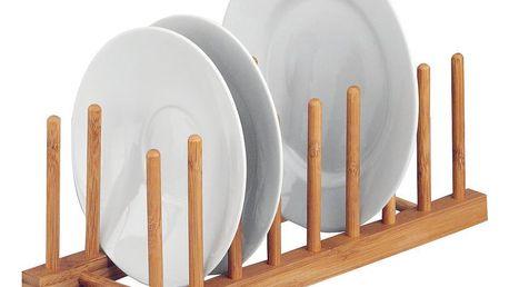 Stojan na talíře, organizér,100% bambus, ZELLER