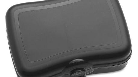 Krabička na svačinu BASIC, svačinovka - barva černá, KOZIOL
