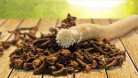 Zoubky jako perličky: Přírodní kartáček Siwak