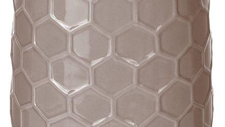 producent niezdefiniowany Keramická váza na květy, dekorace - vysoký,21 x Ø 12 cm EMAKO