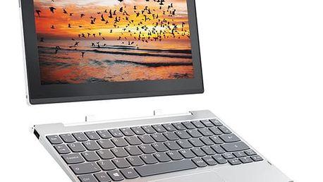 Dotykový tablet Lenovo MIIX 320-10ICR LTE (80XF001VCK) stříbrný + DOPRAVA ZDARMA