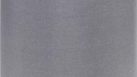 Home Styling Collection Taburet, sedátko, opěrka nohou, šedá barva - 35 x 35 cm
