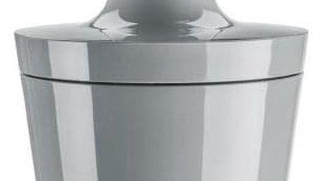 Dávkovač na tekuté mýdlo FLOW - barva šedá, KOZIOL