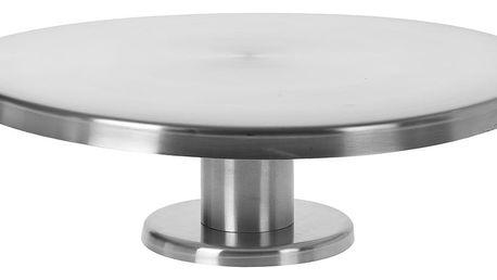 EH Excellent Houseware Podnos z nerezové oceli na dorty - Ø 28 cm