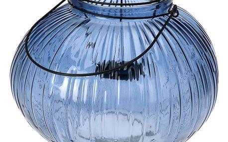 Home Styling Collection Skleněná dekorační lucerna, svícen