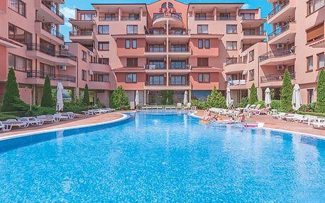 Efir - prostorné apartmány s bazénem pro rodiny
