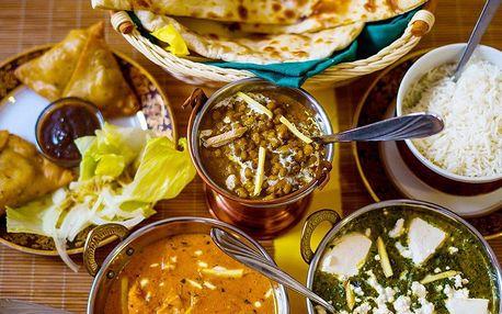 Výběr indických pochoutek dle vaší chuti