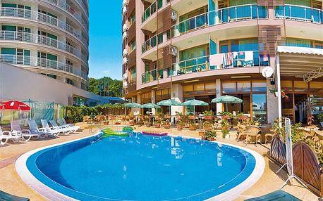 Sea Breeze - kouzelný hotel přímo u pláže uprostřed Slunečného pobřeží