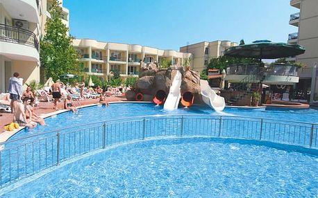 Sunny Day - hotel se zeleným areálem a skluzavkou oblíbený mezi rodinami