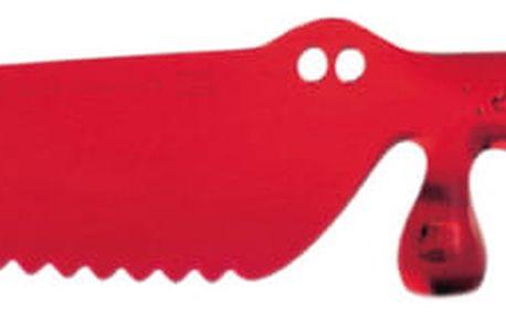 Plastový nůž na dorty COCO - barva červená, KOZIOL