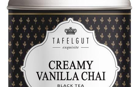 TAFELGUT Černý čaj Creamy Vanilla Chai - 120gr, černá barva, kov