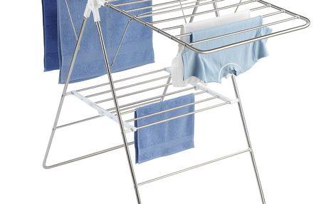 Sušák na prádlo FLEXI, rozkládací, samostatně stojící, WENKO