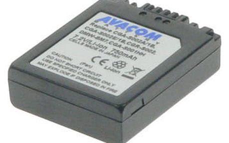 Akumulátor pro video/foto Avacom pro Panasonic CGA-S002/DMW-BM7 Li-ion 7,2V 750mAh (DIPA-S002-532)